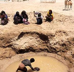 Sequía en foto