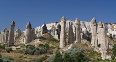 Valle del amor, Capadocia, Goreme, Turquía