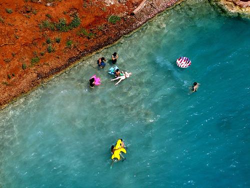 lugares extraordinarios  cascadas de havasu