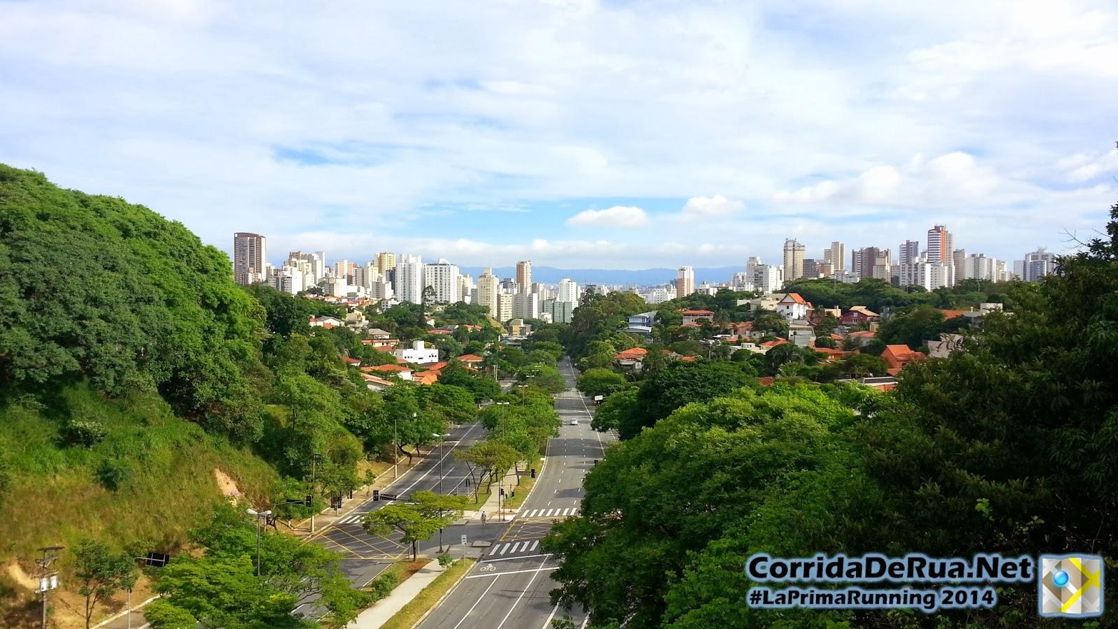 Vista da Avenida Paulo VI a partir da Avenida Doutor Arnaldo - Corrida De rua