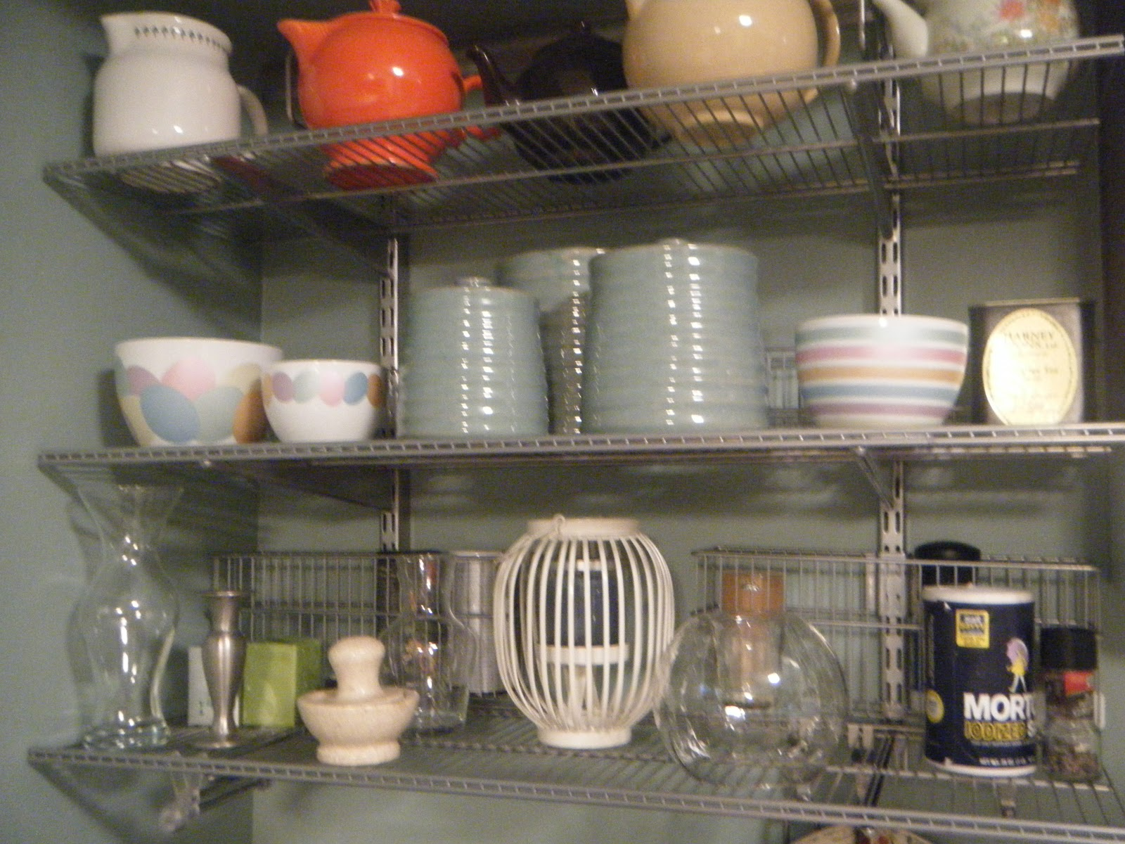 Merveilleux New Elfa Shelving That Replaced Damaged Cabinets