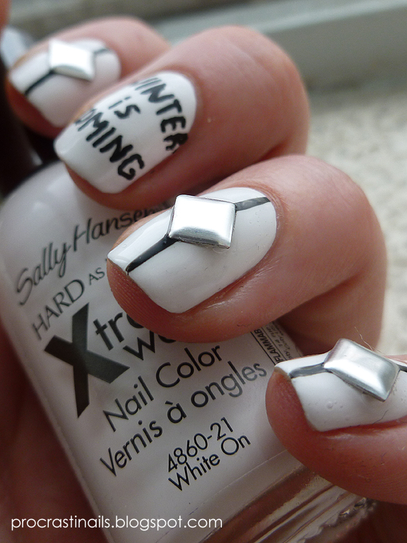 Winter is Coming! House Stark Game of Thrones Inspired Mani ...