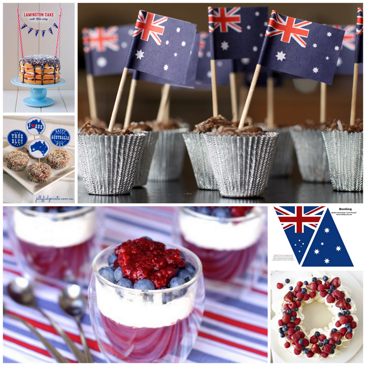 Happy Almost Australia Day To Our Aussie Readers Help You Get Ready For Next Weeks Celebrations Here Are Some Fun Inspired DIY Ideas