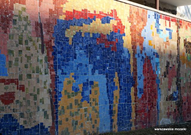 Warszawa Ochota Pawińskiego warszawskie mozaiki
