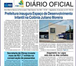 DIÁRIO OFICIAL - PCRJ