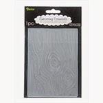 wood embossing folder