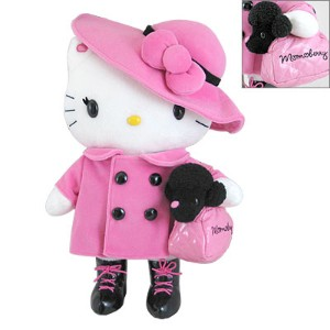 Hello Kitty soft plush toy in elegant costume