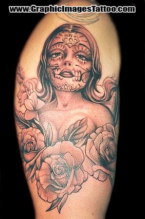 Brainsy Heart: Sugar Skull Tattoo