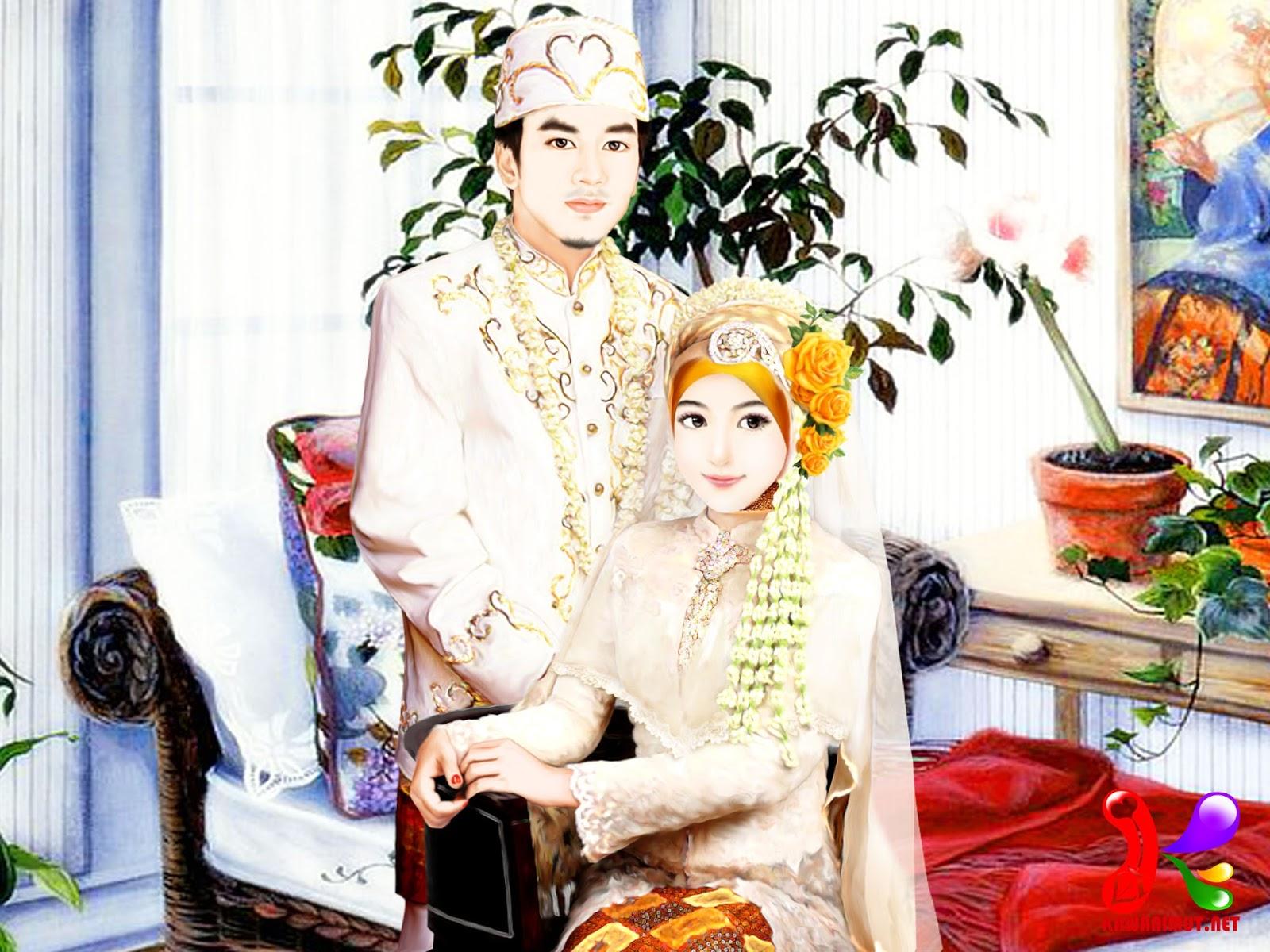Kawanimut Koleksi Kartun Pengantin Kawanimut Kawanimuts Wedding