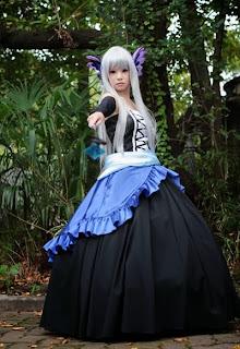 Shirayuki Himeno Cosplay as Gwendolyn from Odin Sphere
