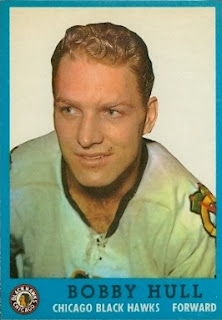 bobby hull chicago blackhawks 1962-63 topps
