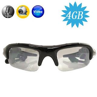 Jual MIni Dv Spy Camera 5Mp Murah Sunglasses Eye wear Spy Camera DVR with Mp3 Player and 4GB Memory