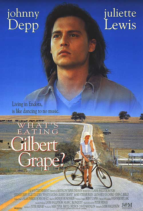 movie commentary what's eating gilbert grape In the small but eventful world of gilbert grape, emergencies are a natural state his younger brother, arnie, has a way of climbing the town water tower and forgetting how to get back down.