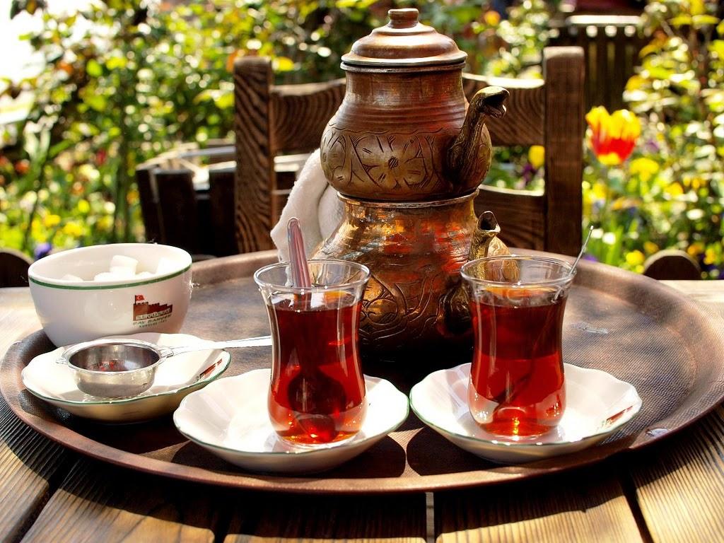 чайная традиция Стамбула