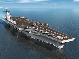 Portaaviones nuclear USS Gerald R. Ford calienta músculos hacia 2016