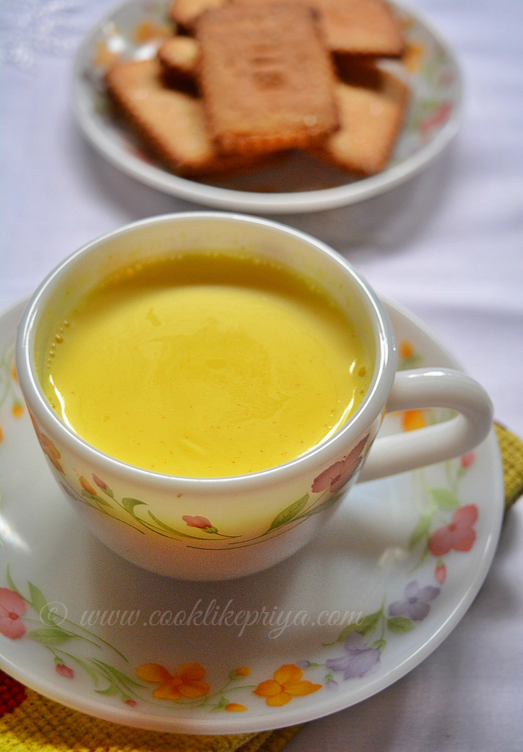 Spiced Turmeric Milk Recipe