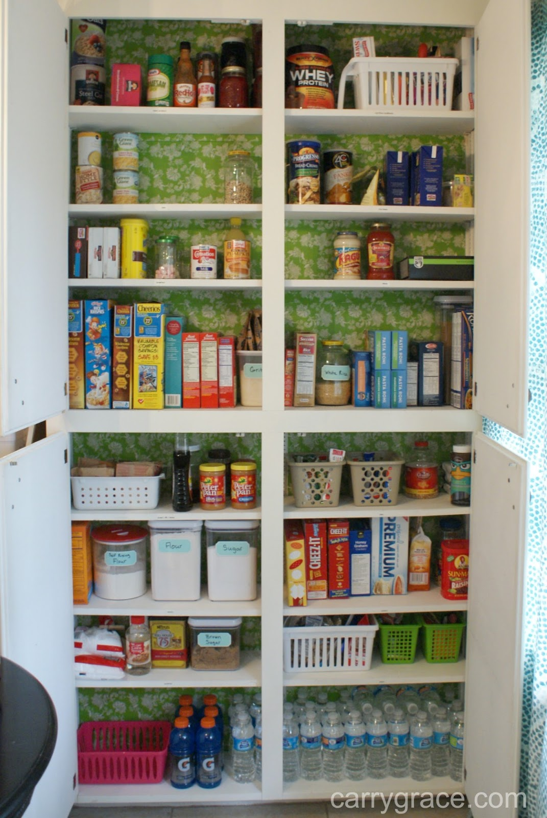 Carry Grace Simply Organized The Pantry