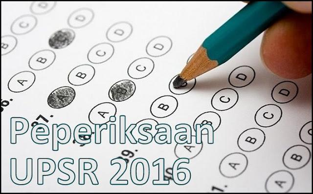 Format Baru & Contoh Soalan UPSR 2016