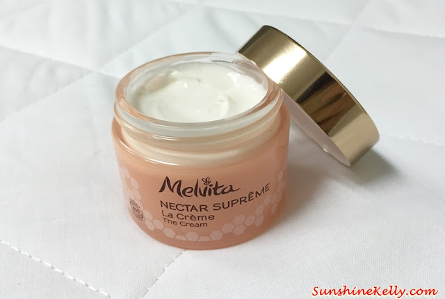 Melvita Nectar Supreme Experience, Melvita Malaysia, Melvita nectar supreme the cream, Melvita Nectar Supreme The Eye & Lip Contour Cream, The Secret of Kniphofia, royal Jelly, the secret of youthful skin