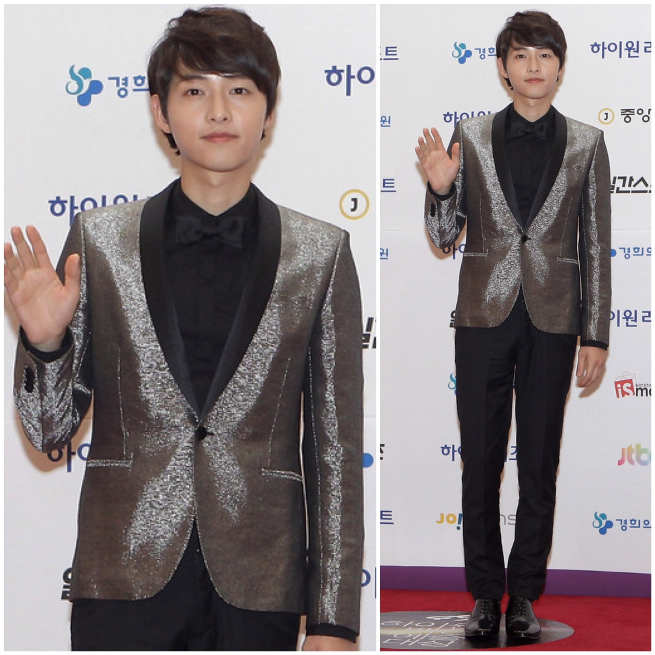 00O00 Menswear Blog Song Joong-Ki [송중기] in Saint Laurent - 49th Paeksang Arts Awards May 2013
