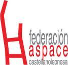 ASPACE Castilla y León: Logo y enlace al sitio web