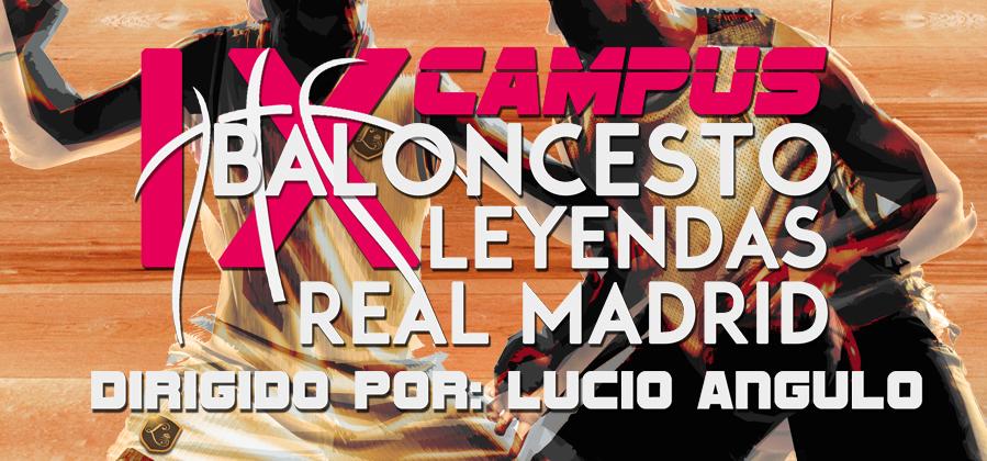 IX Campus de Baloncesto Leyendas del Real Madrid