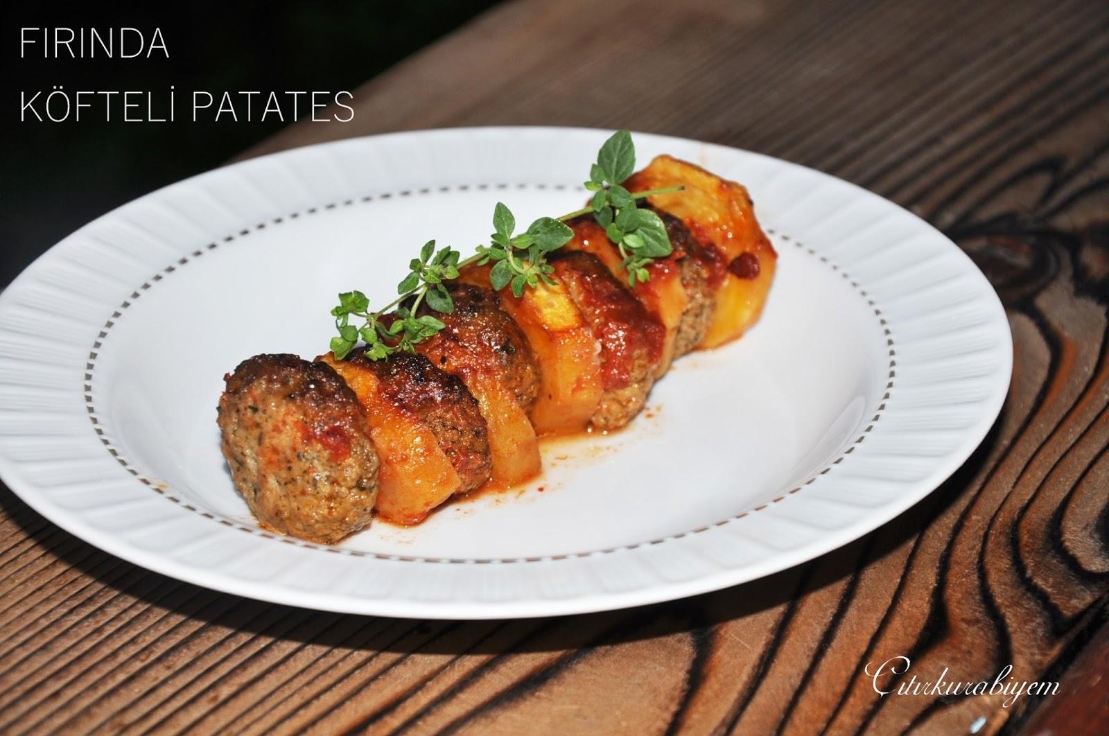 Fırında Köfteli Patates Tarifi – Ana Yemek Tarifleri