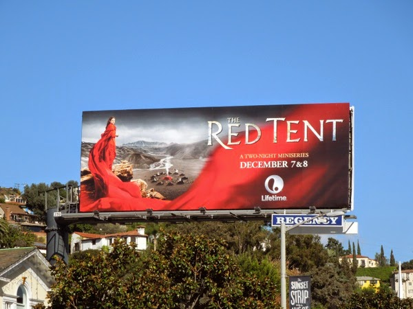 Red Tent Lifetime billboard
