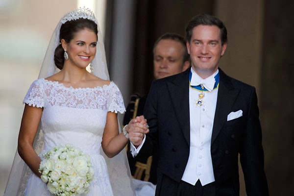 Matrimonio Magadalena de Suecia y Christopher O'Neill