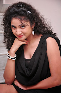 Vishnu Priya in Black Short Dress gallery Spicy Stunning Beauty