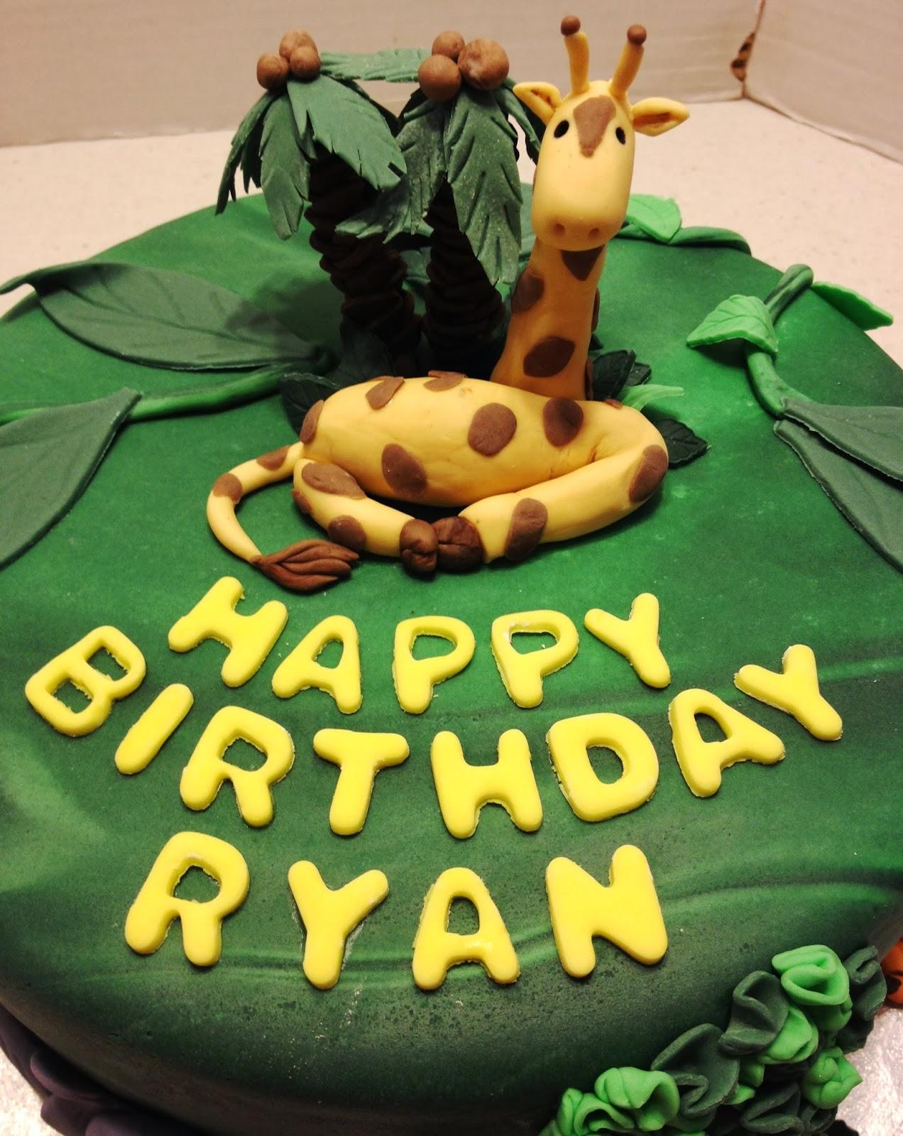 marymel cakes ryans jungle birthday