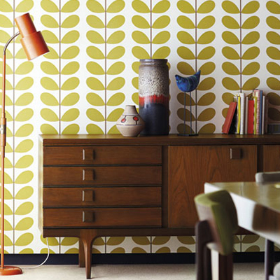 orla kiely papier peint my wish list pinterest. Black Bedroom Furniture Sets. Home Design Ideas