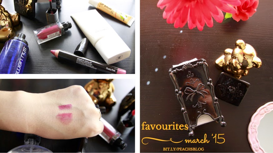 @peachsbeauty March '15 Favourites - Daiso, shu uemura, Maybelline, Bobbi Brown, Chanel - bit.ly/peachsblog | #mgty | #peachsbeauty