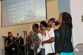 Santified, Singing, Sisters