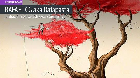 Ilustración. Revenge de RAFAEL CG aka Rafapasta