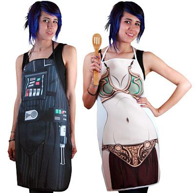 Delantales para cocina Star Wars