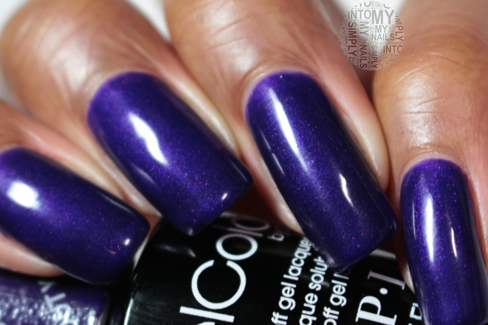 Mini Manicures ~ OPI Gelcolor I Carol About You | Simply Into My NAILS