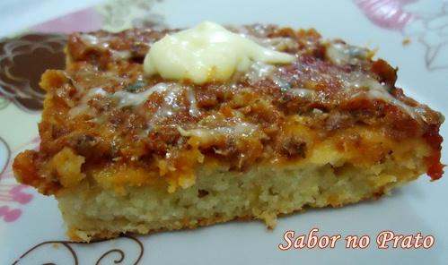 Torta de sardinha com uma massa simples e saborosa!
