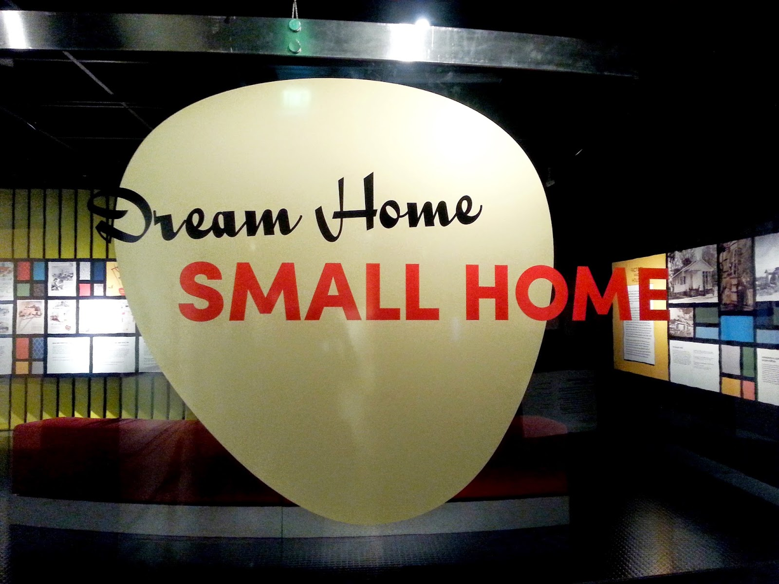 Entry title for the exhibition 'Dream Home Small Home'