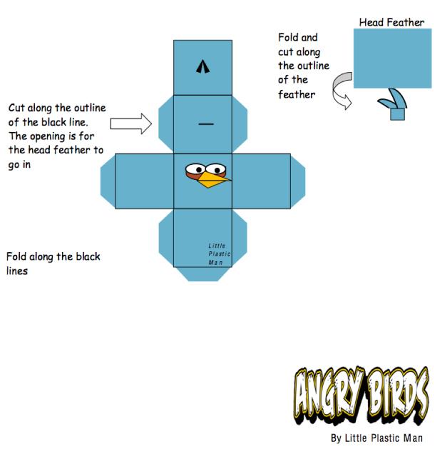 Как сделать angry birds из бумаги своими руками? 1