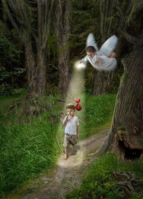 Встреча с ангелом-хранителем