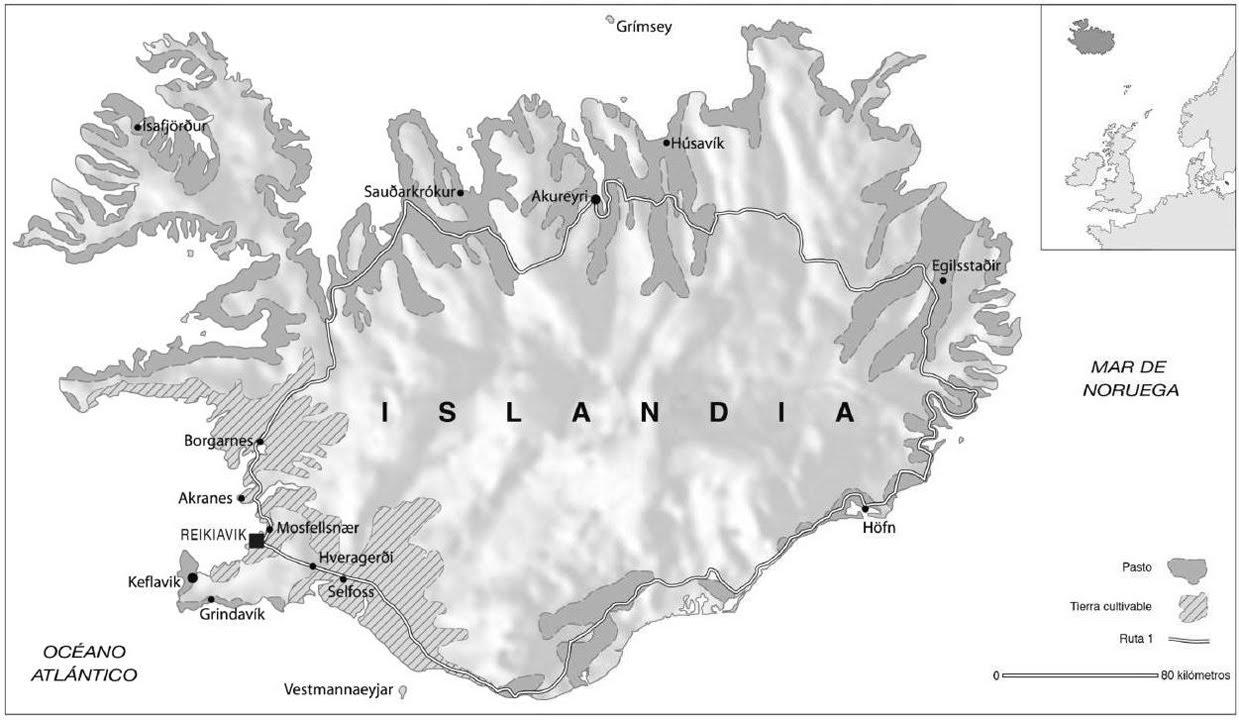 Los de abajo a la izquierda: Lecciones de Islandia