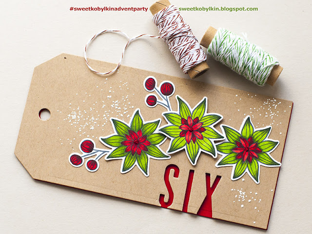 Advent Calendar Blog Party with Sweet Kobylkin - Day 6