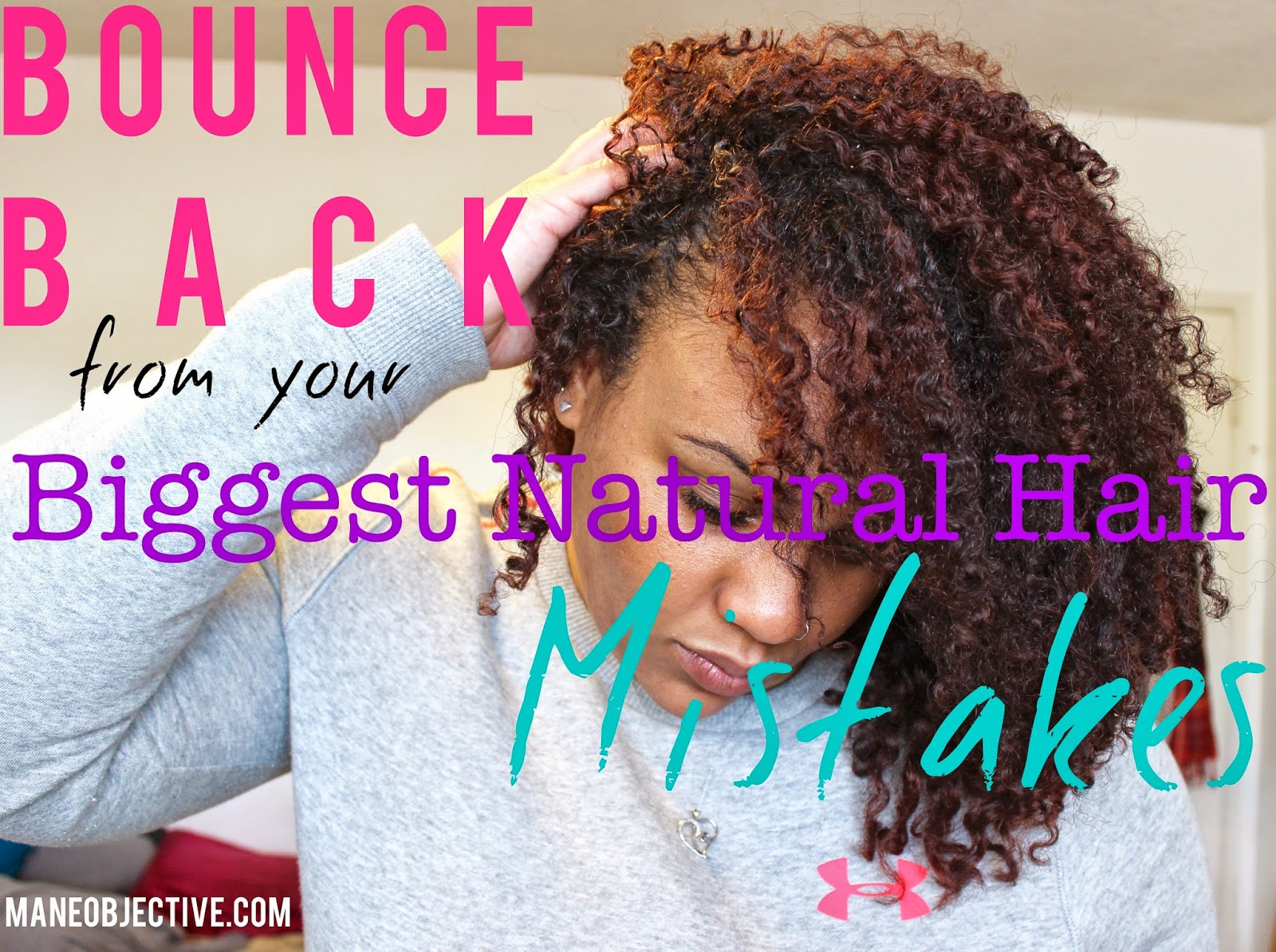 How to Bounce Back from Your Biggest Natural Hair Mistakes