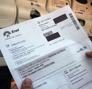 Come leggere la bolletta dell'Enel ?