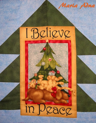 Painel de Natal, Panô, Panô de natal, Publicado em revista, Passo a passo, Natal