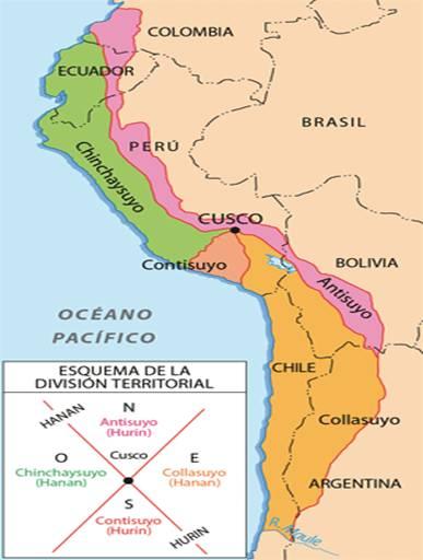 Imperio inca ubicaci n geogr fica mapa - Escuela oficial de idiomas inca ...