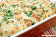 Shelley's Chicken Enchiladas - No Canned Soup -
