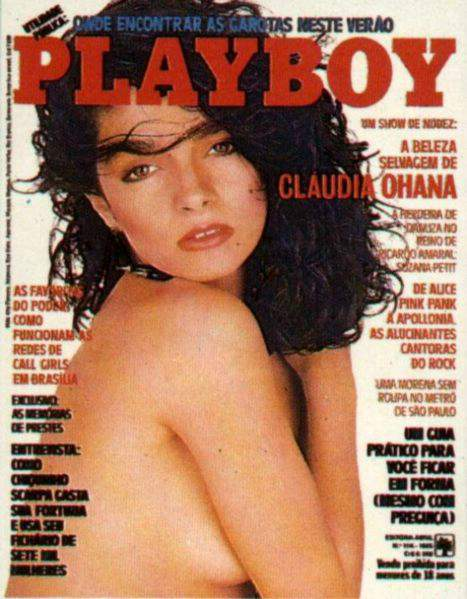 Cláudia Ohana - Fotos Playboy 1985
