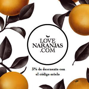 Naranjas recién recolectadas